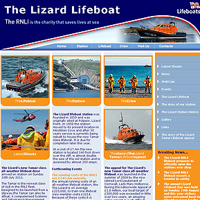 The Lizard Lifeboat